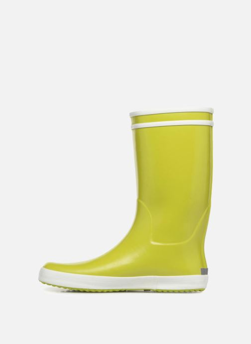 Botas Aigle Lolly Pop Verde vista de frente