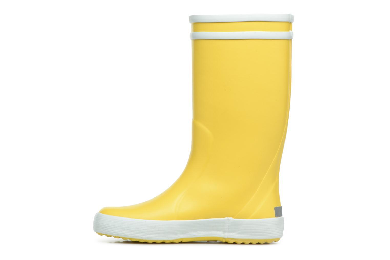 Stiefel Aigle Lolly Pop gelb ansicht von vorne