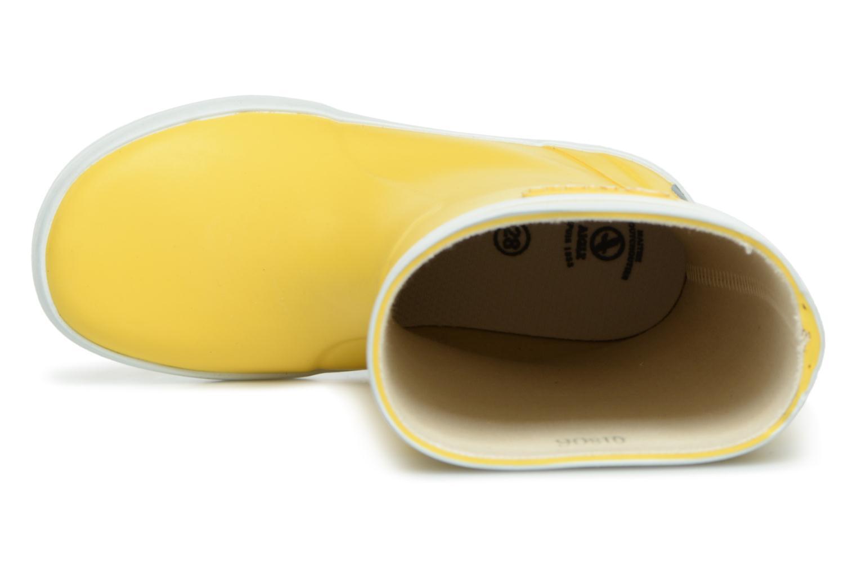 Stiefel Aigle Lolly Pop gelb ansicht von links