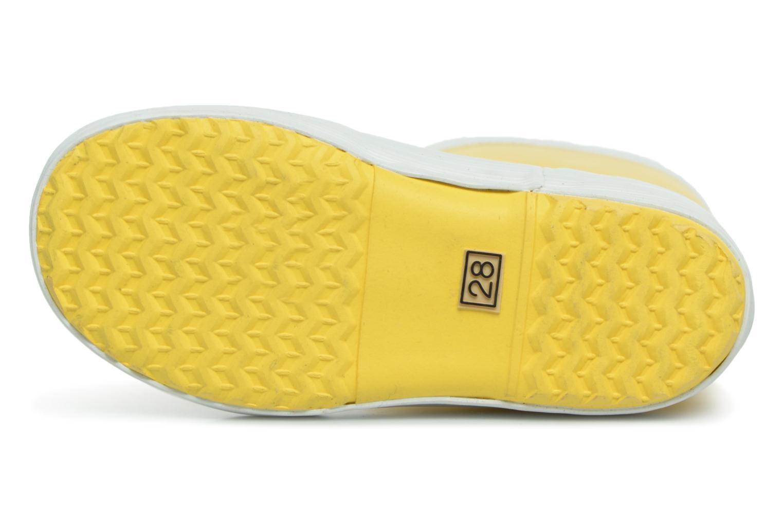 Stiefel Aigle Lolly Pop gelb ansicht von oben