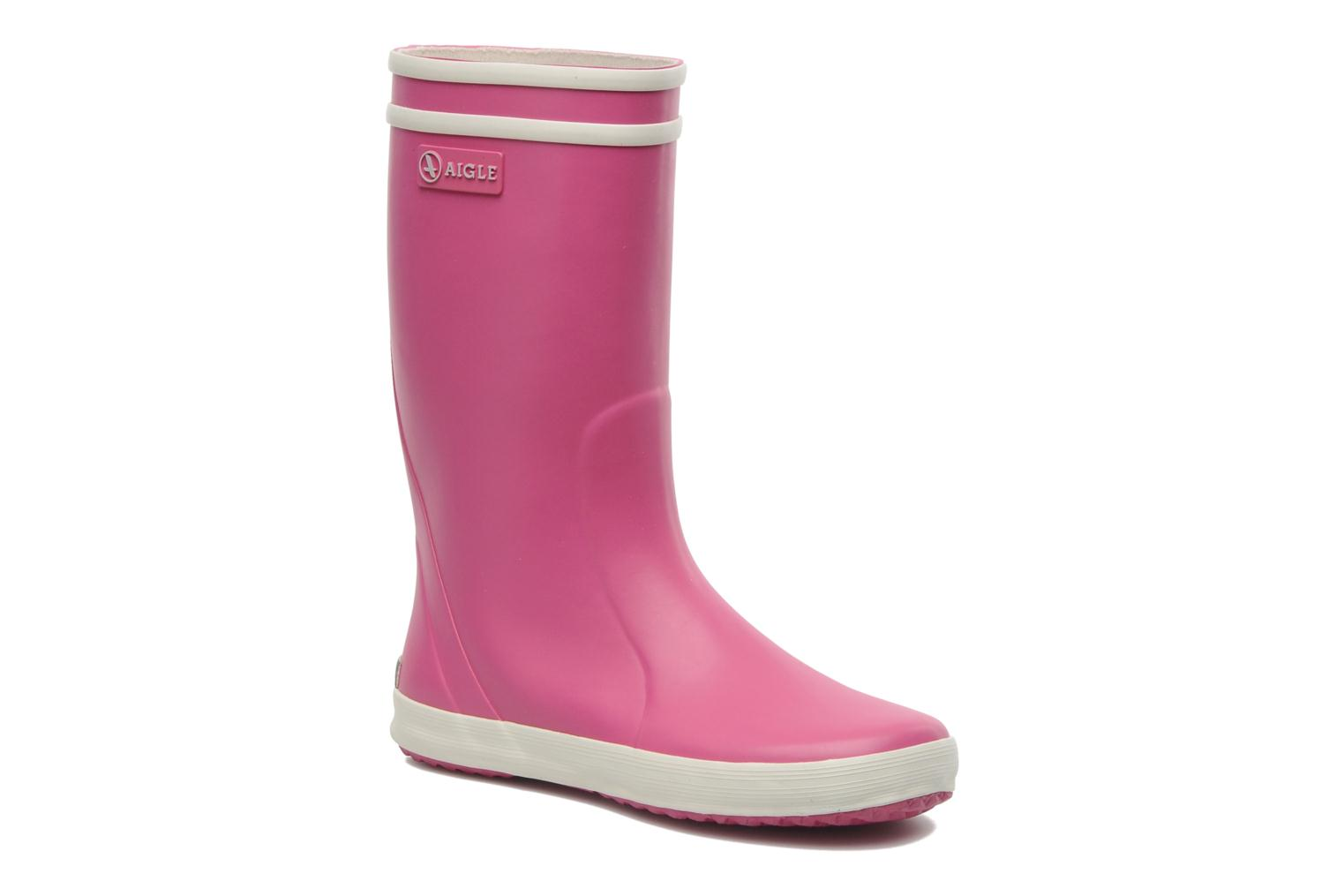 Stiefel Aigle Lolly Pop rosa detaillierte ansicht/modell
