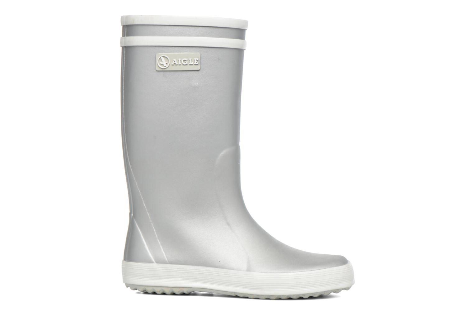 Boots & wellies Aigle Lolly Pop Grey back view