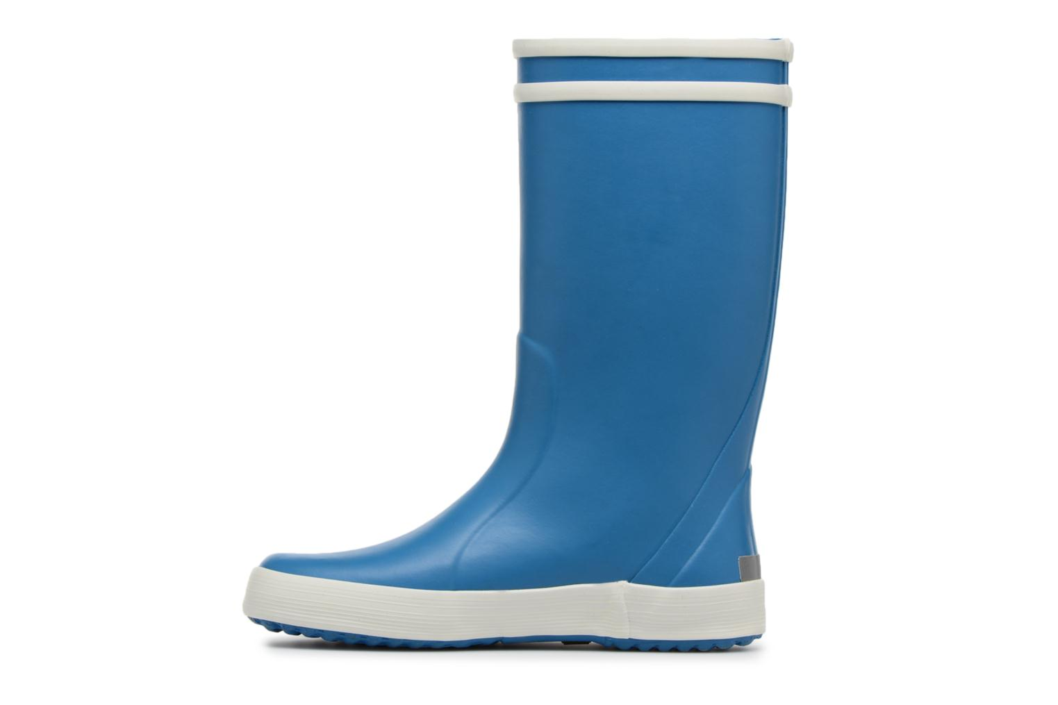 Botas Aigle Lolly Pop Azul vista de frente
