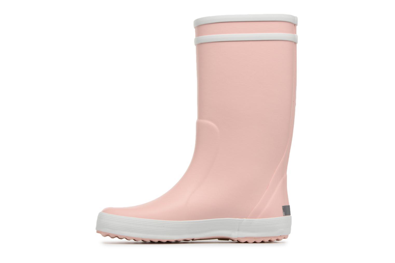 Stiefel Aigle Lolly Pop rosa ansicht von vorne
