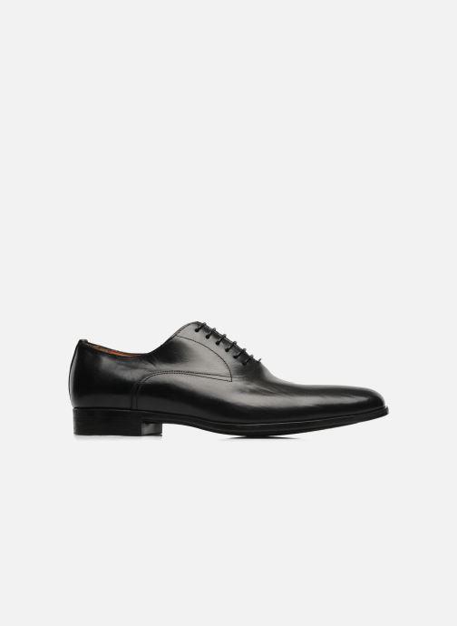 Lace-up shoes Santoni William 07413 Black back view