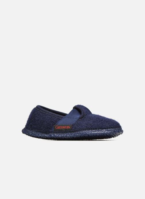 Pantofole Giesswein Türnberg Azzurro immagine posteriore