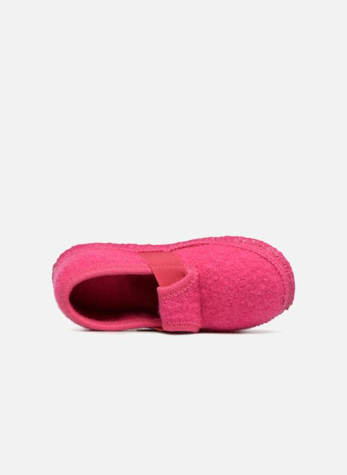 Slippers Giesswein Türnberg Pink view from the left