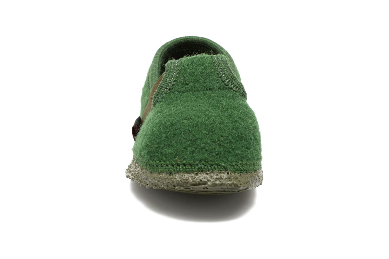 Chaussons Giesswein Türnberg Vert vue portées chaussures