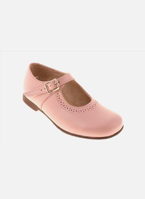 Ballerinaer Start Rite Clare Pink detaljeret billede af skoene