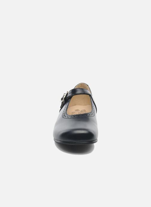 Ballerines Start Rite Clare Bleu vue portées chaussures