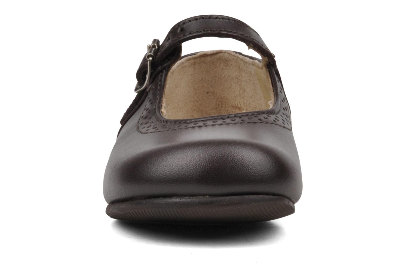 Ballerines Start Rite Clare Marron vue portées chaussures