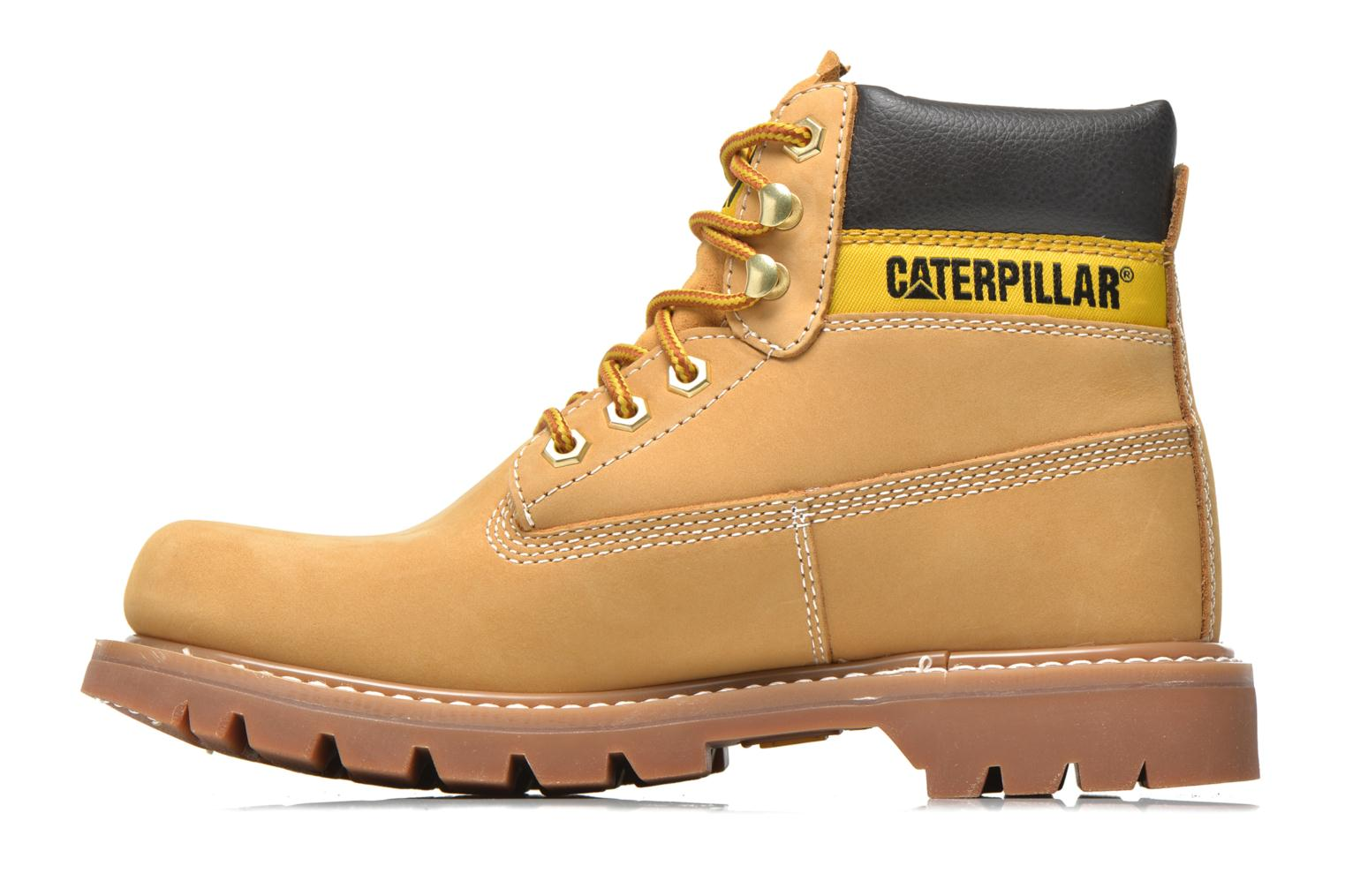 Botines  Caterpillar Colorado Beige vista de frente