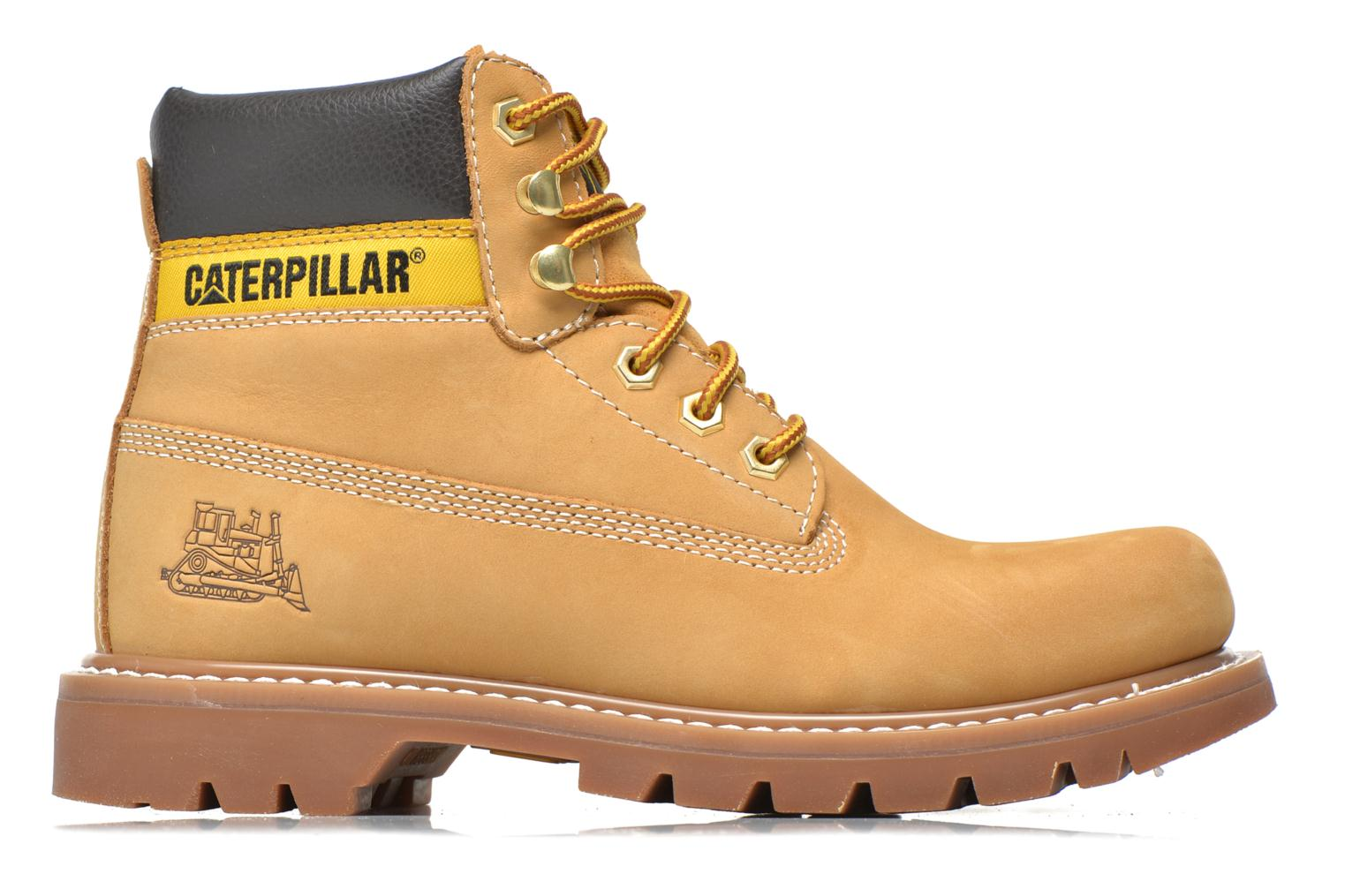 Botines  Caterpillar Colorado Beige vistra trasera