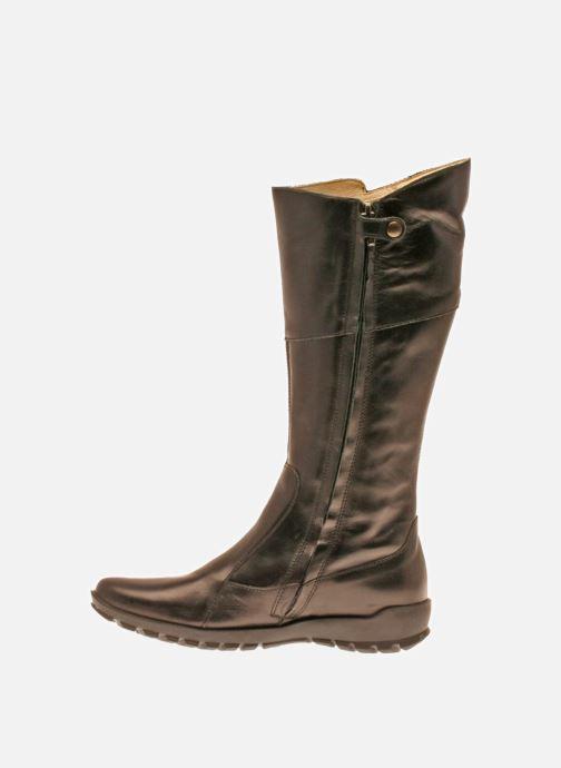 Zapatos con cordones Primigi Magda Negro vista de frente