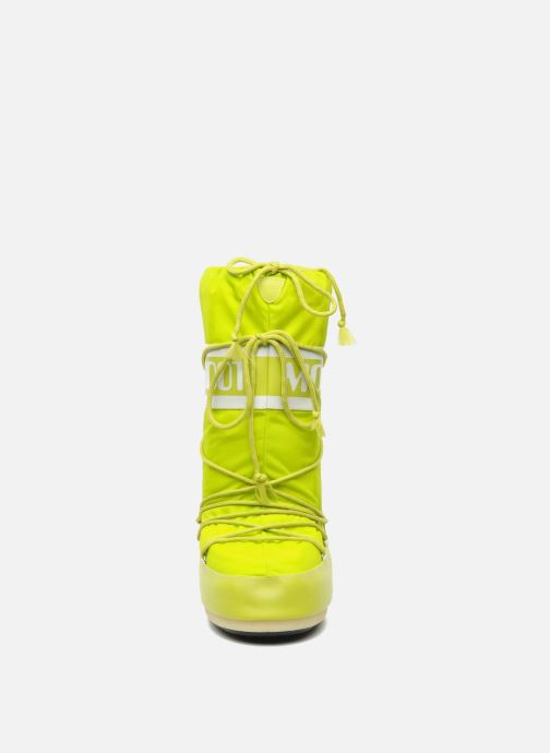Zapatillas de deporte Moon Boot Moon Boot Nylon Amarillo vista del modelo