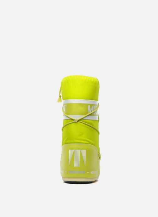 Sport shoes Moon Boot Moon Boot Nylon Yellow view from the right