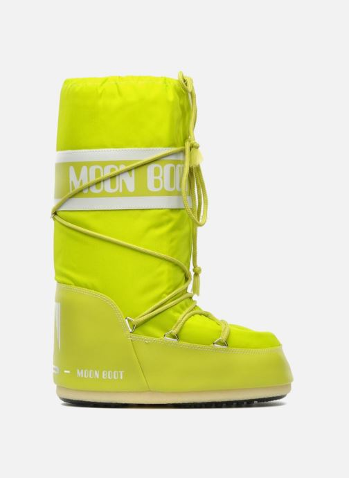 Chaussures de sport Moon Boot Moon Boot Nylon W Jaune vue derrière