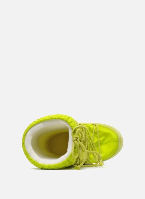 Chaussures de sport Moon Boot Moon Boot Nylon W Jaune vue gauche