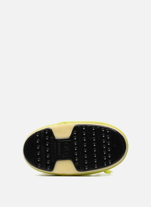 Sport shoes Moon Boot Moon Boot Nylon Yellow view from above
