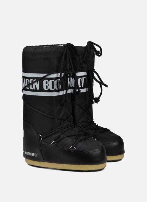 Zapatillas de deporte Moon Boot Moon Boot Nylon Negro vista 3/4