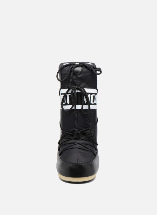 Sportssko Moon Boot Moon Boot Nylon Sort se skoene på