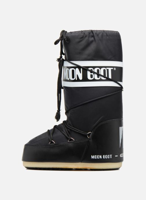 Sportssko Moon Boot Moon Boot Nylon Sort se forfra