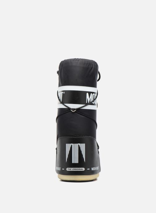 Sport shoes Moon Boot Moon Boot Nylon Black view from the right