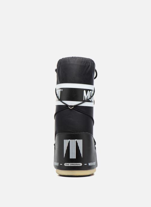 Zapatillas de deporte Moon Boot Moon Boot Nylon Negro vista lateral derecha