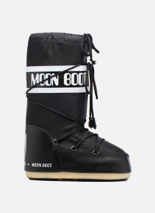 Sportschoenen Moon Boot Moon Boot Nylon Zwart achterkant