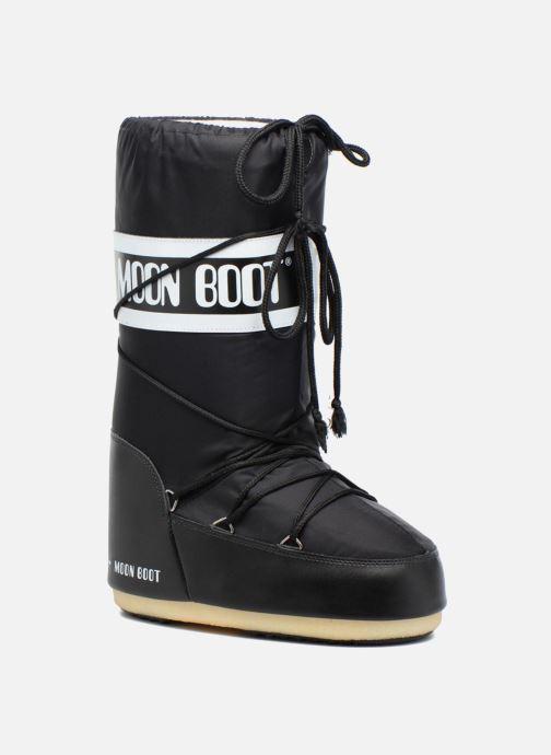 Zapatillas de deporte Moon Boot Moon Boot Nylon Negro vista de detalle / par