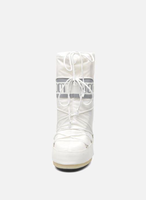 Sportschuhe Moon Boot Moon Boot Nylon weiß schuhe getragen