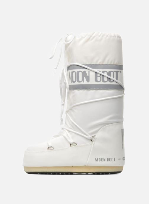 Sport shoes Moon Boot Moon Boot Nylon White front view