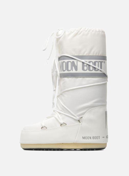 Sportschuhe Moon Boot Moon Boot Nylon weiß ansicht von vorne