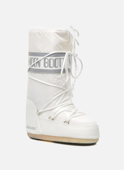Chaussures de sport Moon Boot Moon Boot Nylon W Blanc vue détail/paire