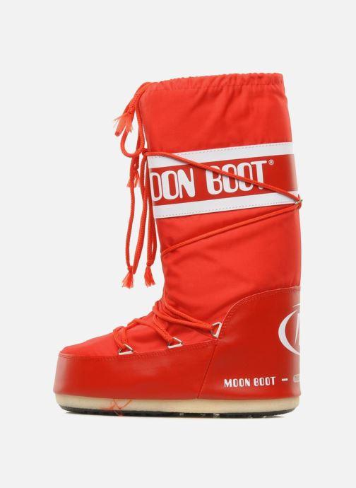 Sportschuhe Moon Boot Moon Boot Nylon rot ansicht von vorne