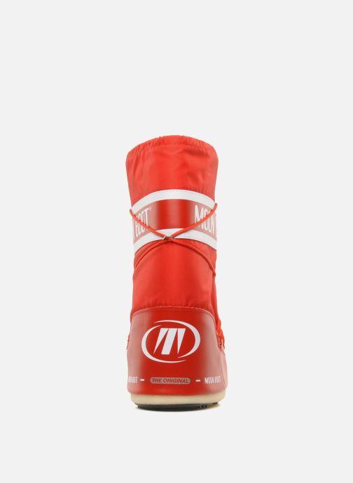 Zapatillas de deporte Moon Boot Moon Boot Nylon Rojo vista lateral derecha
