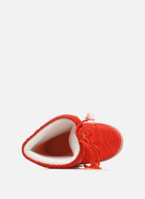 Zapatillas de deporte Moon Boot Moon Boot Nylon Rojo vista lateral izquierda
