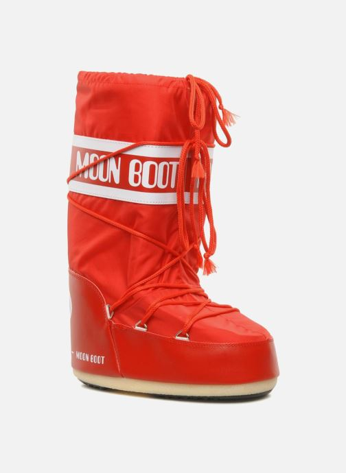 Sport shoes Moon Boot Moon Boot Nylon Red detailed view/ Pair view