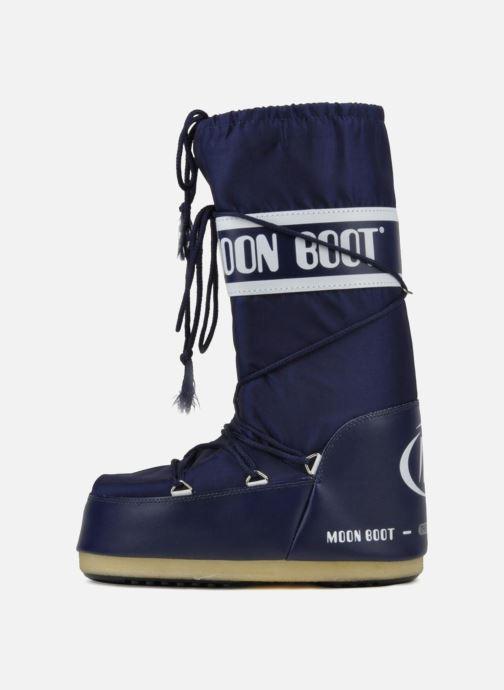 Sportschuhe Moon Boot Moon Boot Nylon blau ansicht von vorne