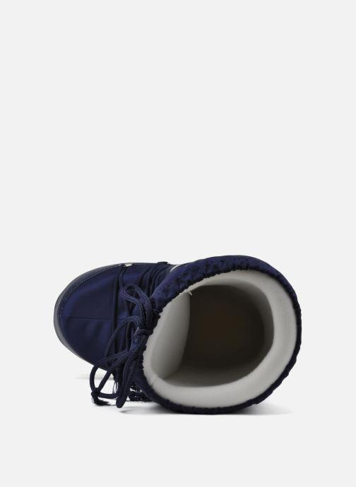 Sportschuhe Moon Boot Moon Boot Nylon blau ansicht von links