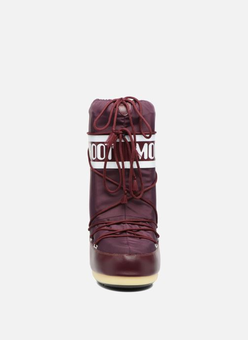 Sport shoes Moon Boot Moon Boot Nylon Burgundy model view