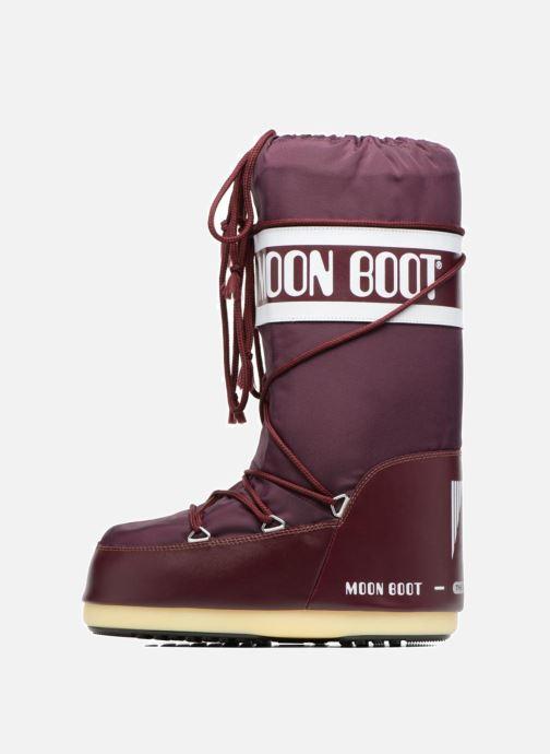 Chaussures de sport Moon Boot Moon Boot Nylon W Bordeaux vue face