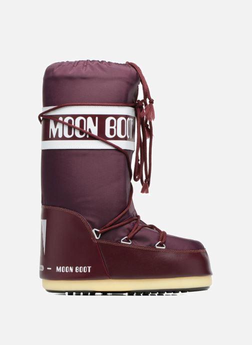 Sportskor Moon Boot Moon Boot Nylon Vinröd bild från baksidan
