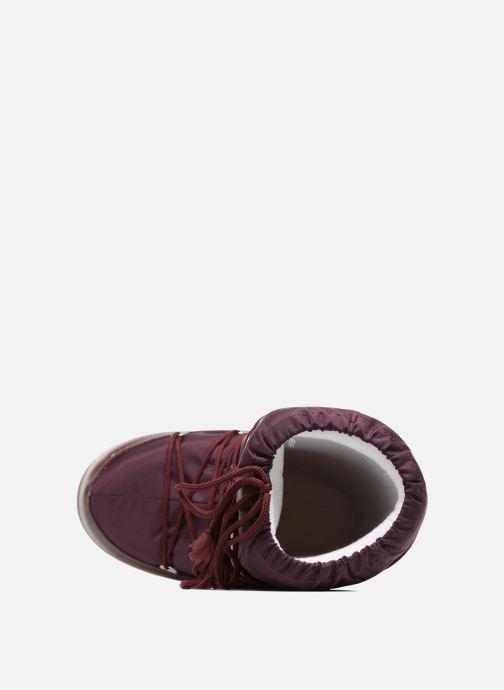 Zapatillas de deporte Moon Boot Moon Boot Nylon Vino vista lateral izquierda