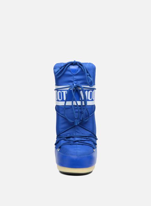 Scarpe sportive Moon Boot Moon Boot Nylon Azzurro modello indossato