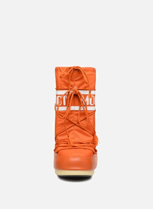 Sportschuhe Moon Boot Moon Boot Nylon orange schuhe getragen