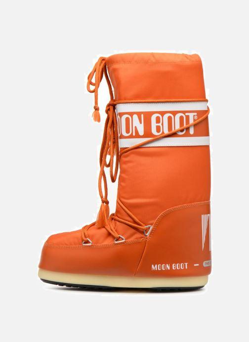 Sportschuhe Moon Boot Moon Boot Nylon orange ansicht von vorne
