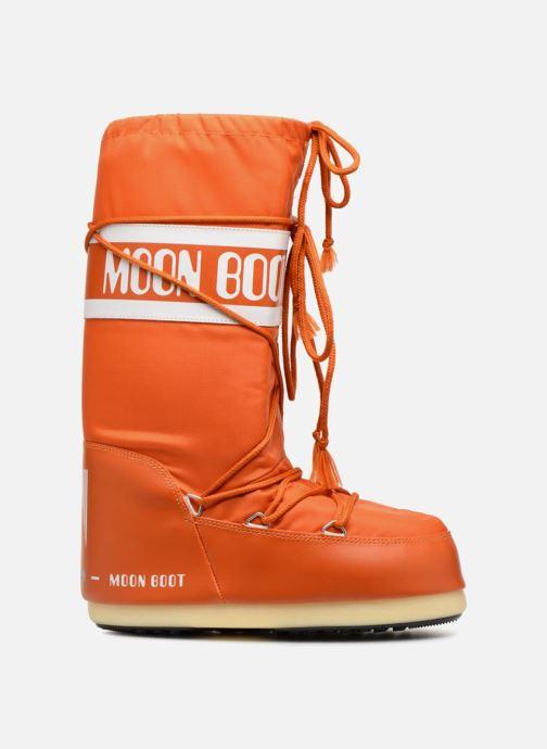 Sportschuhe Moon Boot Moon Boot Nylon orange ansicht von hinten