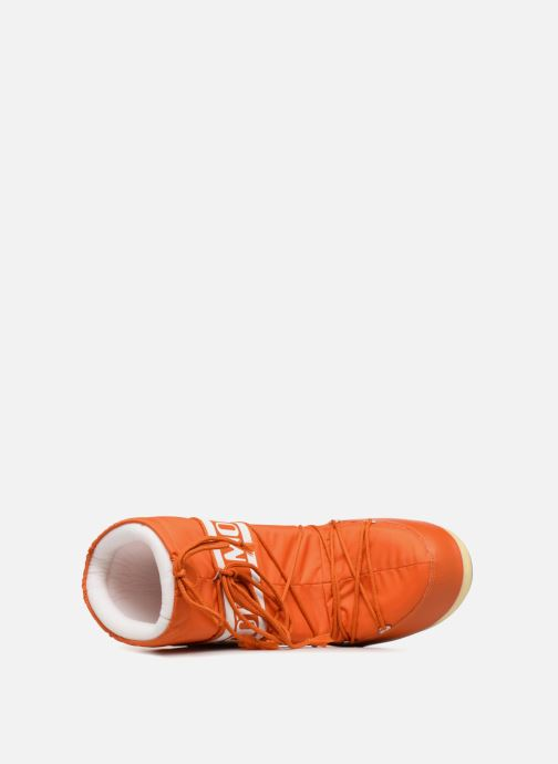 Sport shoes Moon Boot Moon Boot Nylon Orange view from the left