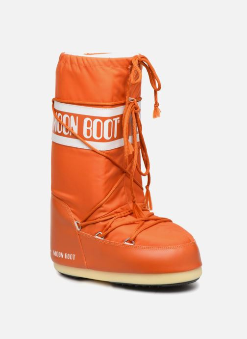 Sport shoes Moon Boot Moon Boot Nylon Orange detailed view/ Pair view